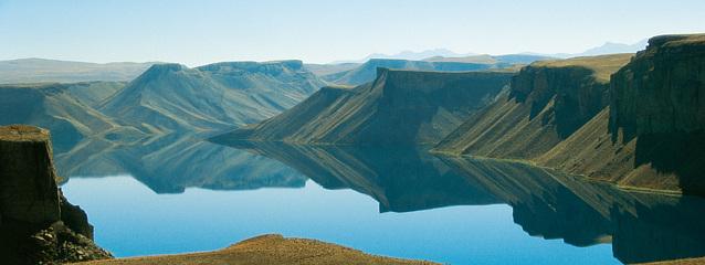Afghanistan - Blauer See bei Band e-Amir